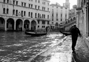 godoliers à Venise
